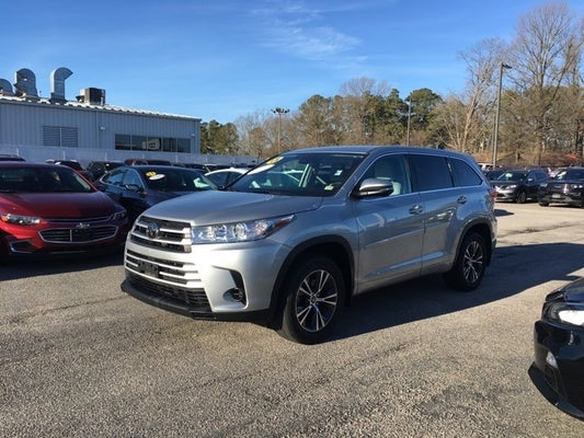 2018 Toyota Highlander LE V6 - Hampton VA area Honda ...