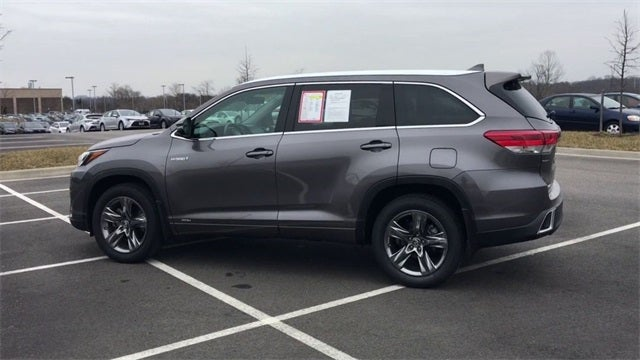2018 Toyota Highlander Hybrid Limited Platinum - Hampton ...